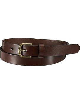 Women Medium Gloss Belt by Uniqlo