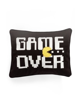 Game Over Accent Pillow by Levtex