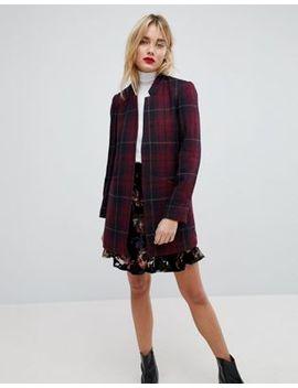 Vero Moda Check Print Blazer by Vero Moda