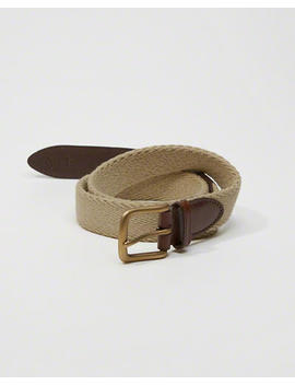1 1/4 Inch Woven Belt by Abercrombie & Fitch