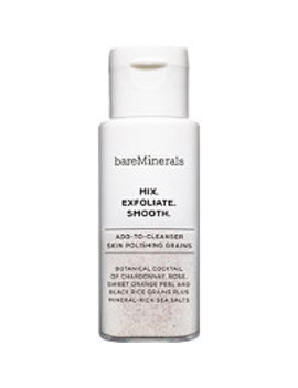 Skinsorials Mix. Exfoliate. Smooth. Add To Cleanser Skin Polishing Grains by Bare Minerals