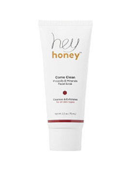 Online Only Come Clean Propolis & Minerals Facial Scrub by Hey Honey