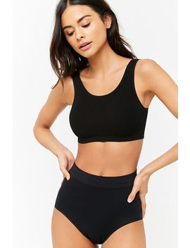 V Back Seamless Bralette by Forever 21