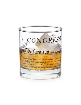 Declaration Of Independence Glass by Brian Johnson
