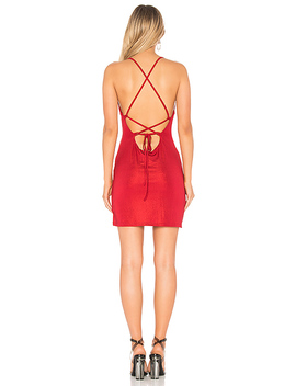 Jessica Cross Back Dress by By The Way.