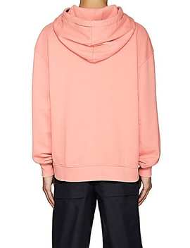 Yala Logo Cotton Oversized Hoodie by Acne Studios