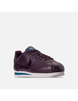 Women's Nike Classic Cortez Special Edition Premium Casual Shoes by Nike