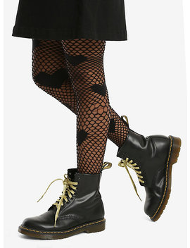 Heart Fishnet Tights by Hot Topic