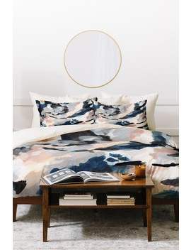 Laura Fedorowicz Abstract Queen Duvet Cover Set by Deny Designs