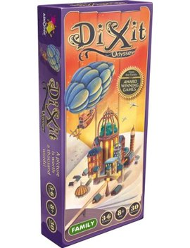 Dixit Odyssey Expansion Game by Asmodee