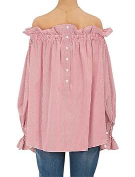 Cotton Off The Shoulder Blouse by Teija