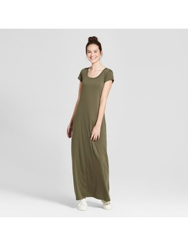Women's Short Sleeve Maxi Dress   Mossimo Supply Co.™ by Mossimo Supply Co.