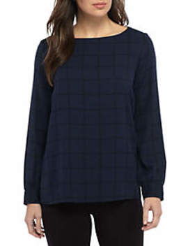 Bateau Neck Blouse by Eileen Fisher