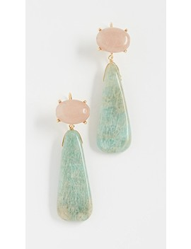 Isadora Double Drop Earrings by Theia Jewelry