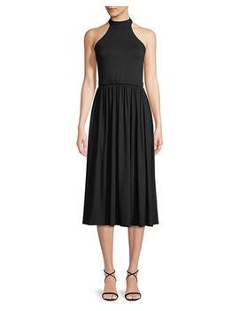 Beth Halter Cutout Midi Dress by Rachel Pally