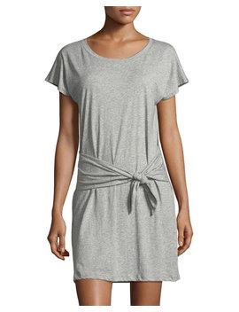 Alyra Self Tie Mini Dress by Joie