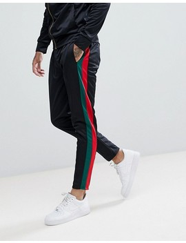 Criminal Damage Muscle Tracksuit Set In Black by Criminal Damage's