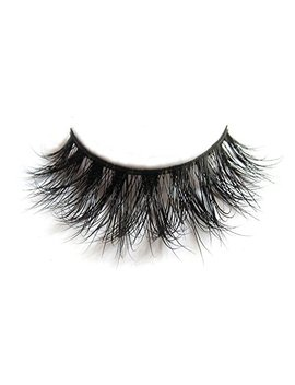 3 D Mink Fur Fake Eyelashes 100 Percents Siberian Mink Fur Hand Made False Lashes 1 Pair Package by Arison Lashes