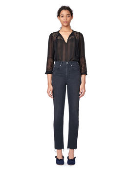 Chiffon Lace Tie Top by Rebecca Taylor