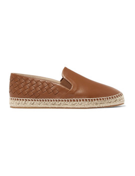 Intrecciato Leather Espadrilles by Bottega Veneta