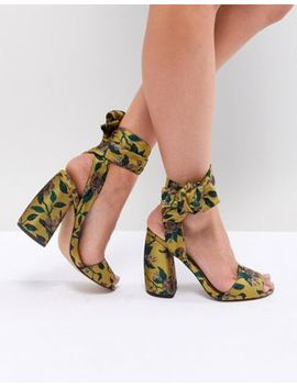 Asos Harvest Heeled Sandals by Asos Design