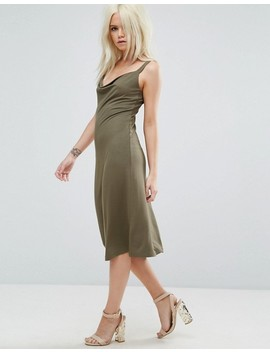 Свободное платье миди Asos Petite by Asos