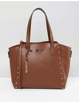 Dune Dancy Tote Bag With Gold Stud Detailing by Dune