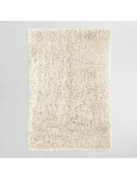Natural Flokati Wool Area Rug by World Market