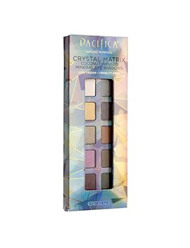 Pacifica Beauty 10 Well Eye Shadow, Crystal Matrix, 0.2 Ounce by Pacifica