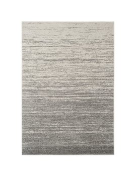 Safavieh Adirondack Vintage Ombre Light Grey / Dark Grey Rug (4' X 6') by Safavieh