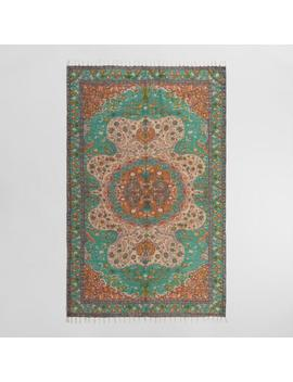 5'x8' Multicolor Persian Style Print Jute Soha Area Rug by World Market