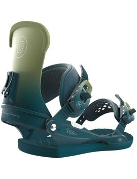 Union Women's Milan Snowboard Bindings In Olive   Size M Nwt 2018 by Union