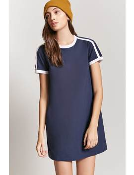 Contrast Ringer Mini Dress by Forever 21