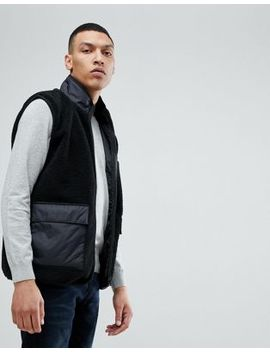 Bellfield Vest In Teddy Fleece by Bellfield