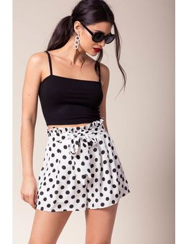 Elie Dotted Shorts by A'gaci