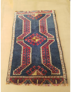 Vintage Turkish Small Rug, Anatolian Pillow Rug, 1'8''x2'9''/ 52x83 Cm, Lovely Yastik Rug, Bath Mat Rug, Entry Decor Rug , Faded Color Rug by Etsy
