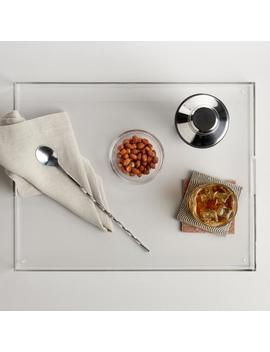 Clear Acrylic Serving Tray by World Market
