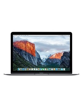 "Apple Macbook 12"" Laptop, Retina Display, 256 Gb Pci E Ssd, 8 Gb, Bluetooth, Mac Os Yosemite – Space Grey (Certified Refurbished) by Apple"