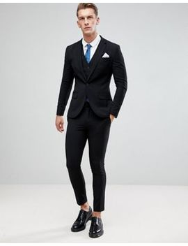 Only & Sons Skinny Suit In Black by Asos Brand