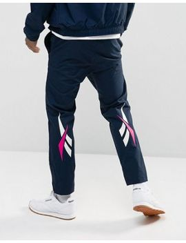Reebok Vector Joggers In Navy Br0086 by Reebok