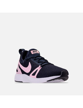 Girls' Grade School Nike Duel Racer Running Shoes by Nike