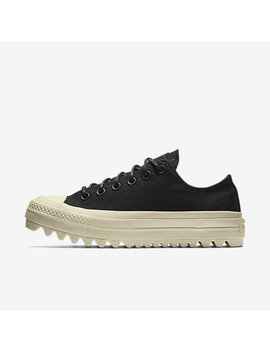 Converse Chuck Taylor All Star Lift Ripple Canvas Low Top by Nike