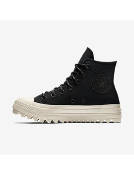 Converse Chuck Taylor All Star Lift Ripple Canvas High Top by Nike