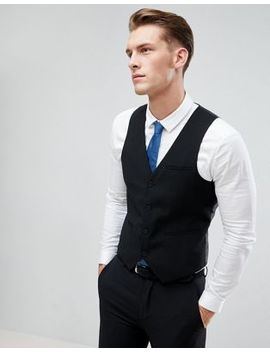 Only & Sons Skinny Vest by Only & Sons