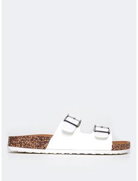 Keri  Open Toe Slide by Zooshoo