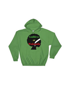 Goddess Of Wakanda Hooded Sweatshirt by Etsy