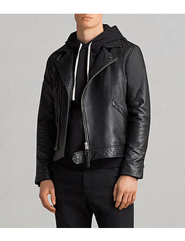 Alderson Leather Biker Jacket by Allsaints