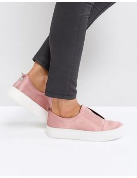 Steve Madden Goals Satin Trainer by Steve Madden