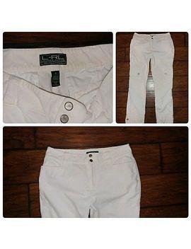 Lauren Active Ralph Lauren Blush Corduroy Velvet Cargo Pocket Pants Size 6 by Lauren Ralph Lauren