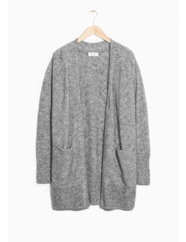 Mohair & Wool Cardigan by & Other Stories
